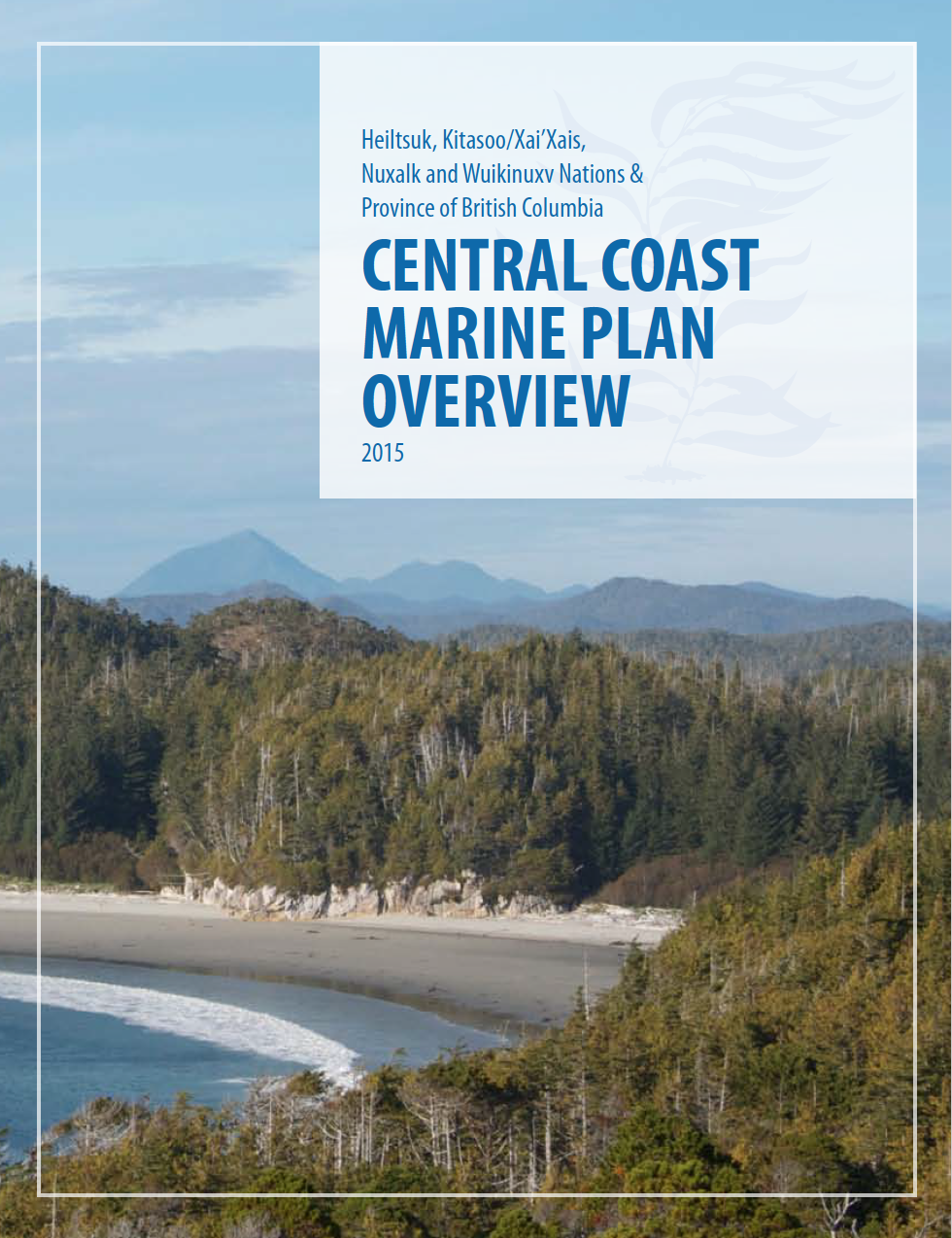 Central Coast Marine Plan Overview